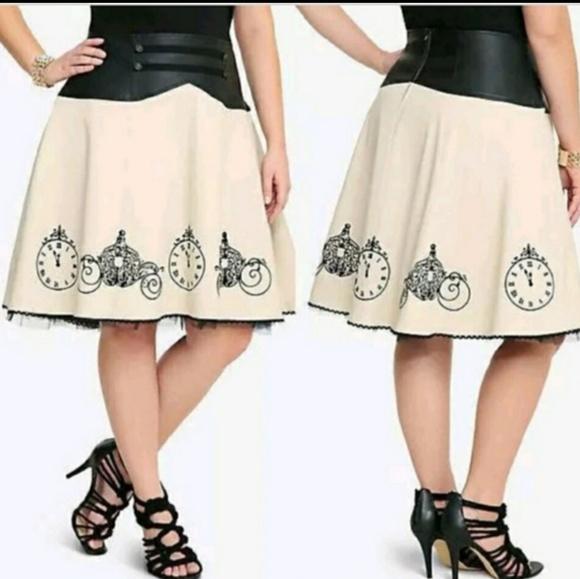 d34631ceb8 torrid Skirts | Rare Nwt Cinderella Skirt 16 | Poshmark